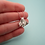 Thumbnail: Silver Bat Necklace - Shiny or Patinaed