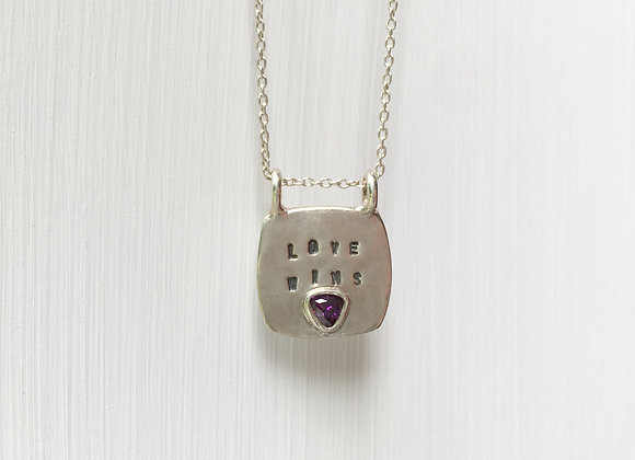 Love Wins Necklace #3