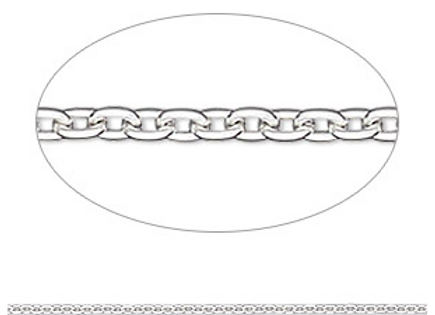 "Silver 18"" Replacement Chain"
