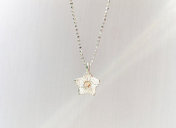 Peach Star Necklace