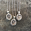 Thumbnail: Tiny Silver Nut Necklace
