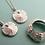 Thumbnail: Tiny Silver Sand Dollar Necklace