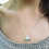 Thumbnail: Silver Pink Urchin Fragment Necklace