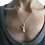 Thumbnail: Gold and Silver Mushroom Necklace