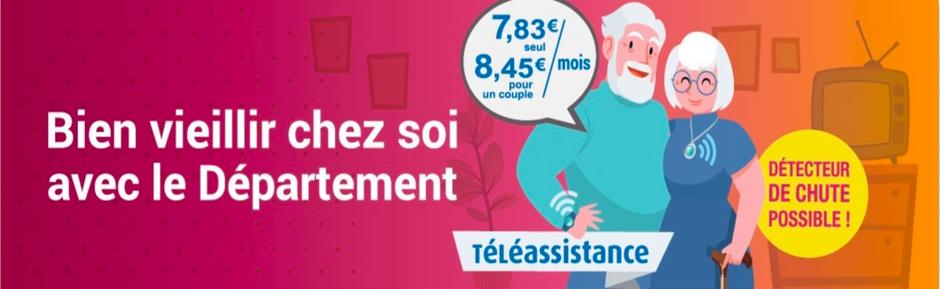 La téléassistance à 7,83 € par mois