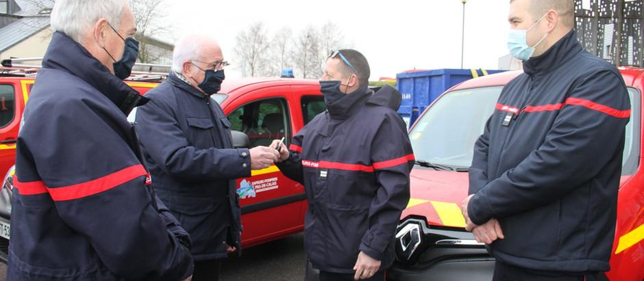 13 nouveaux véhicules pour les pompiers