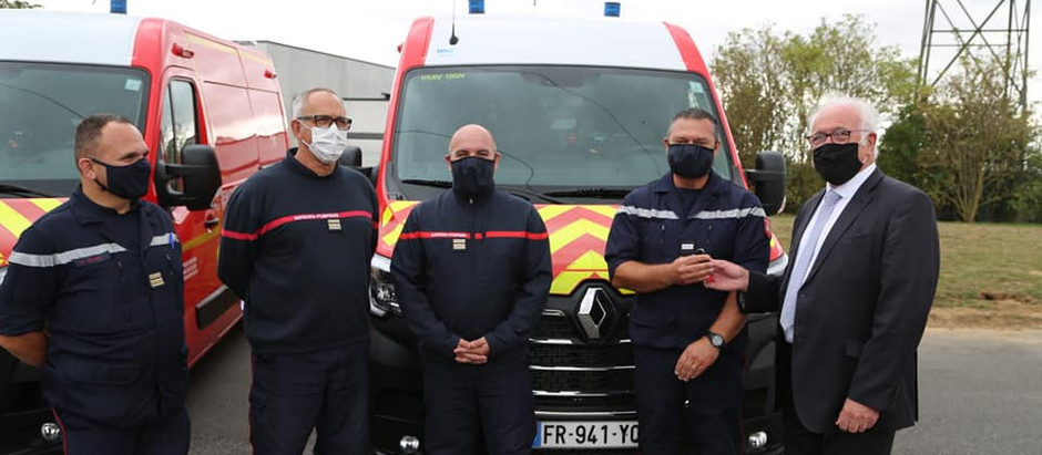 16 nouveaux véhicules pour les pompiers