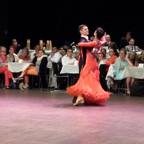 Tango, Grand Prix de Danse de St Cyr-sur-Loire
