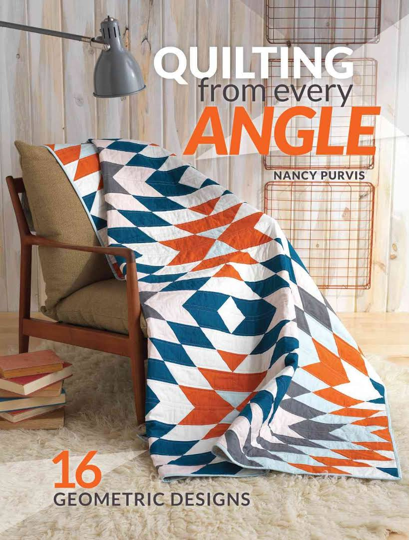 Quilting book prop stylist