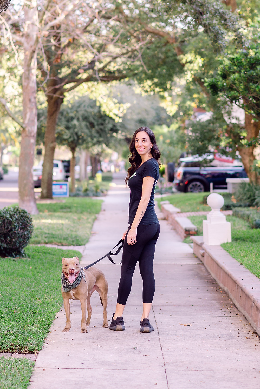 Headshots for dog walkers and pet sitters
