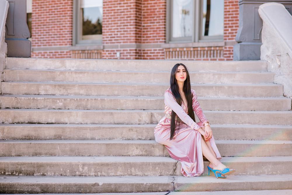 Tampa Bay fashion headshot photographer Nina Bashaw
