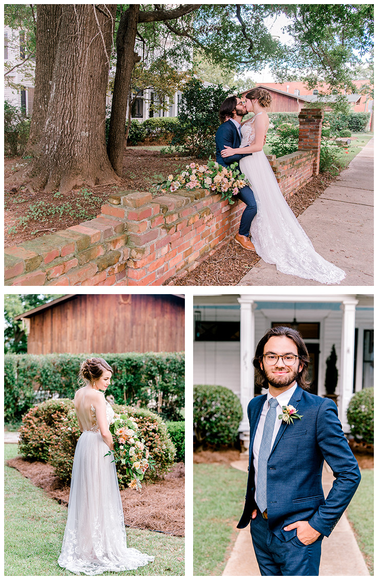 Wedding at The Thomas House and Garden | Nina Bashaw is a fine art portrait and wedding photographer serving Columbia, Charleston, Greenville, Charlotte, NC Augusta, Ga, Nashville, TN surrounding areas and worldwide destination weddings and elopements.