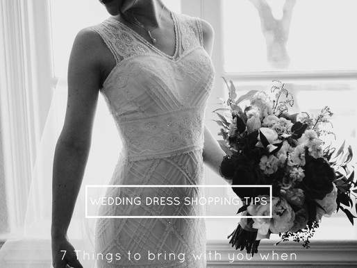 7 Things to bring with you to your bridal salon appointment