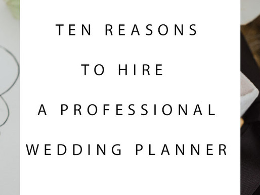 10 reasons why you should considering hiring wedding planner