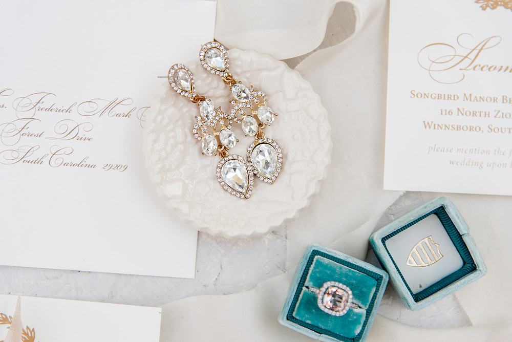 Ring Dishes for detail shots for Tampa wedding photographers