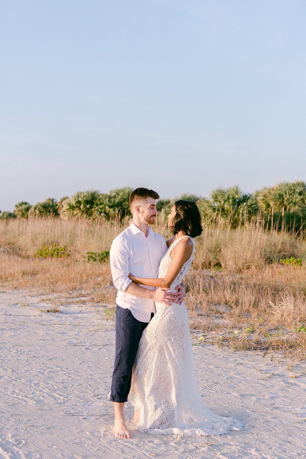 Fort De Soto wedding photos