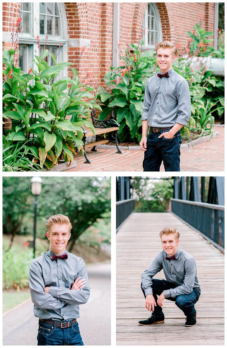 Charlotte senior photographer Nina Bashaw | Styled senior session | Senior boy poses | Columbia senior portrait photographer