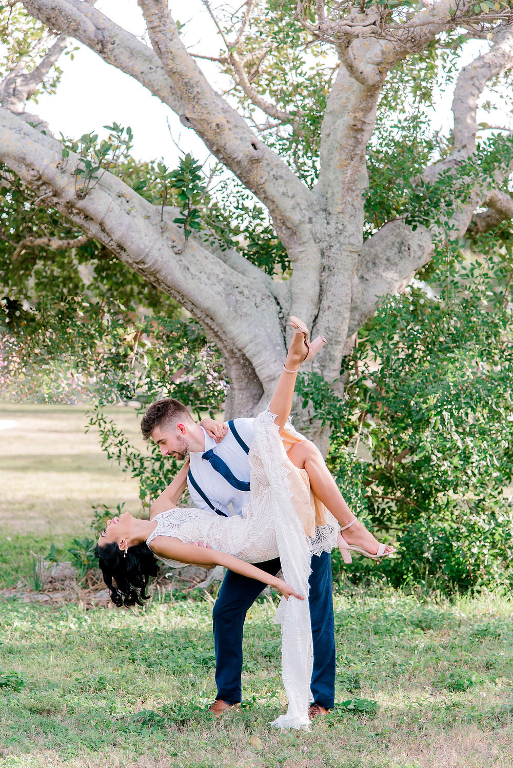 Fort De Soto wedding photos by Nina Bashaw Photography