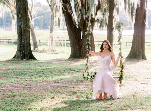 Alyssa's bridal portraits at Covington Farms