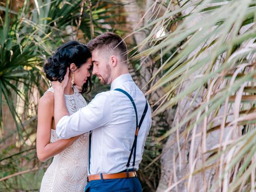 Salina and Dawid couples photos at Fort De Soto Park St Pete, Florida