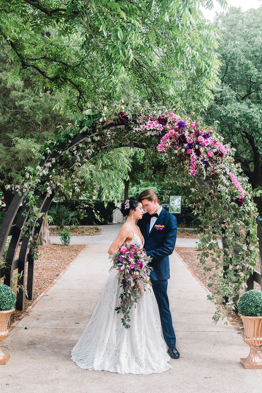 Out door wedding | Charleston wedding photographer Nina Bashaw Photography | Columbia, SC wedding photographers | Wedding at the Hampton Preston Mansion | Southern wedding venue | Shades of purple wedding | Navy and purple wedding