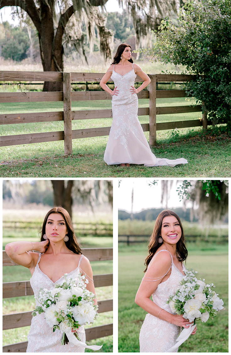 Nina Bashaw Photography shares wedding at Covington Farms wedding venue in Dade City