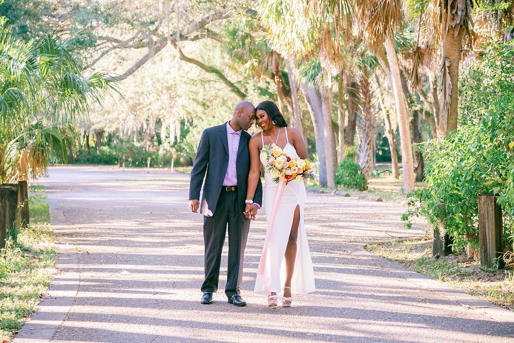 Luxury elopement in Sarasota