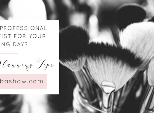 Why hire a professional makeup artist for your wedding day or photoshoot?