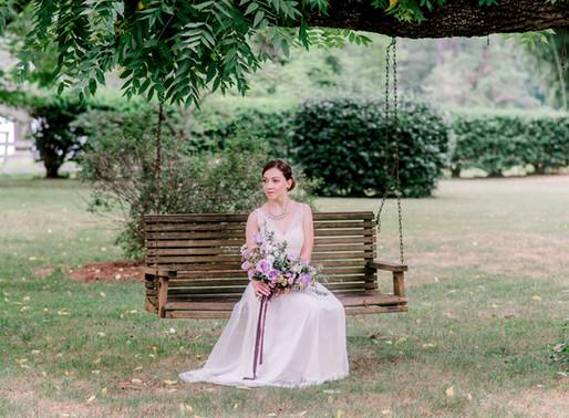Bridal Session at Tirzah Farms i