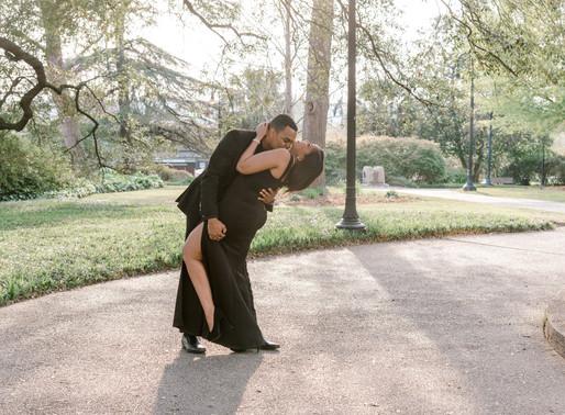 Tasha and Brandon engagement session