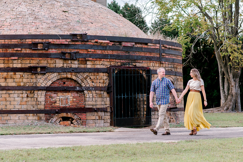 Engagement photos at the Columbia river walk | Columbia, SC wedding photographers Nina Bashaw | Greenville wedding photographer | Augusta, GA photographer | Charlotte photographer