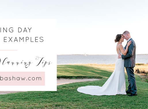 Wedding day timeline. Why you need one and how to make it.