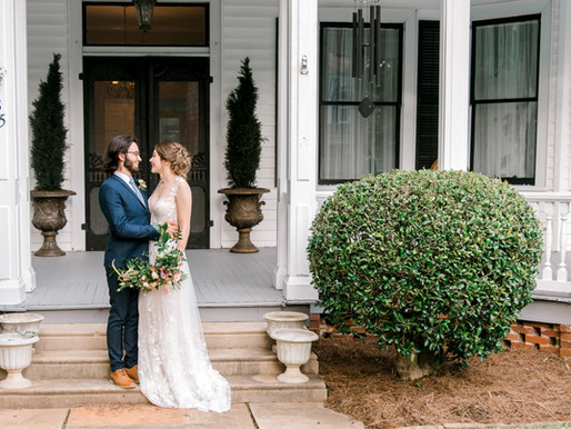 Southern Wedding Venue - The Thomas House & Garden in Ridgeway, SC