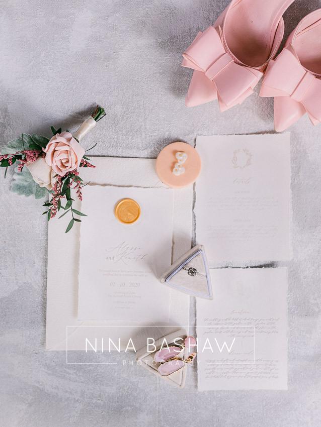 Tampa wedding photographer Nina Bashaw shares some wedding invitation etiquette