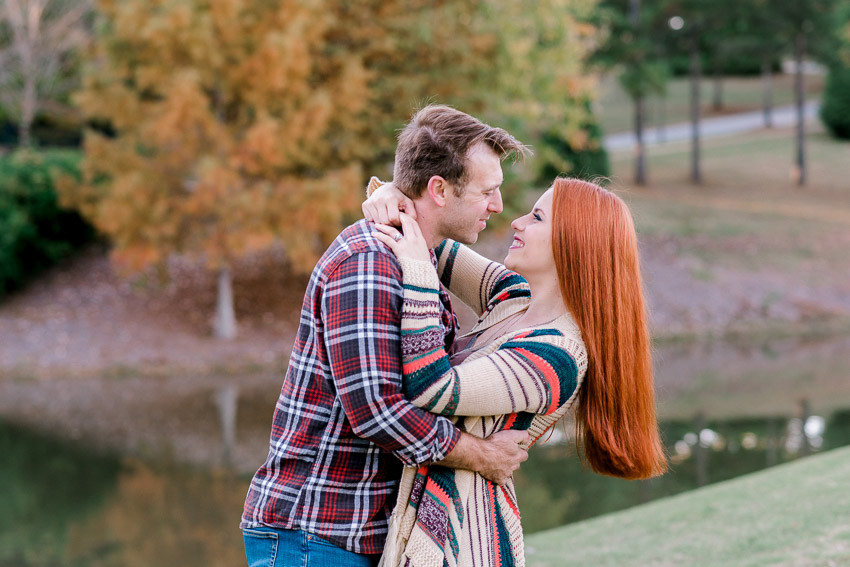 Columbia, SC wedding photographers Nina Bashaw | Engagement photos at Cobblestone Park Golf and Country Club | Why have the same photographer for your wedding and engagement photos | Greenville photographer | Fine Art wedding photographers in Charlotte | Wedding planning tips