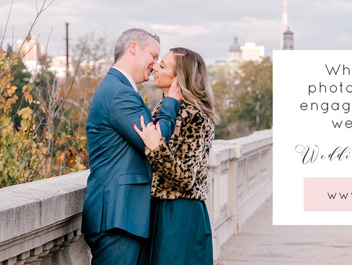Why use the same photographer for your engagement photos and wedding photography?