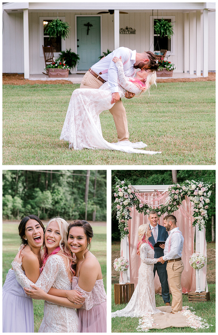 Wedding at Dogwood Downs in Ravenel, SC | Nina Bashaw is a fine art portrait and wedding photographer serving Columbia, Charleston, Greenville, Charlotte, NC Augusta, Ga, Nashville, TN surrounding areas and worldwide destination weddings and elopements.