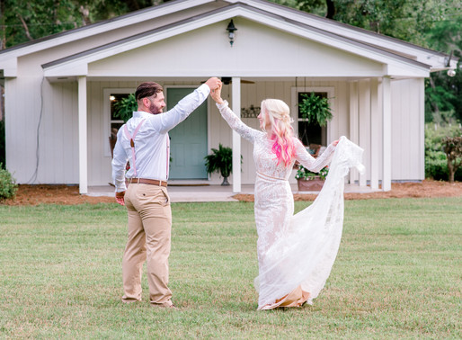 Wedding at Dogwood Downs in Ravenel, SC