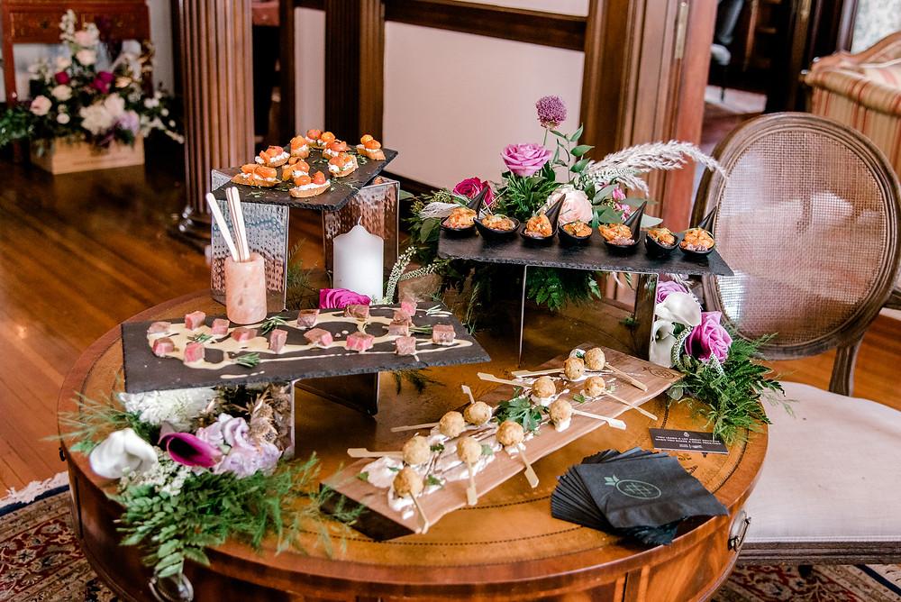 Tampa catering company Saltblock Hospitality. Sarasota elopement photographer Nina Bashaw