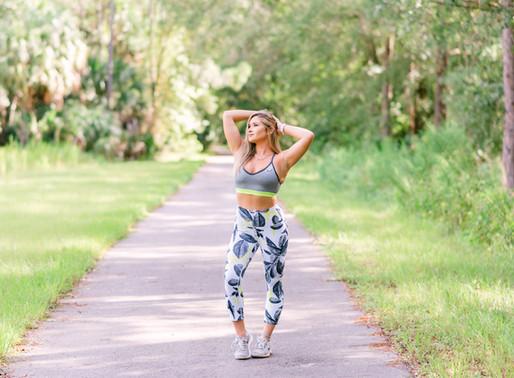 Michelle fitness branding session