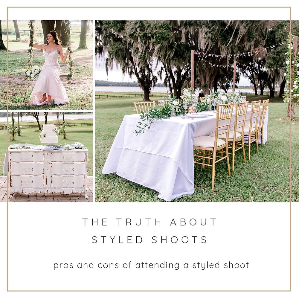 Pros and cons of attending a styled shoot. Nina Bashaw Photography Tampa wedding photographers