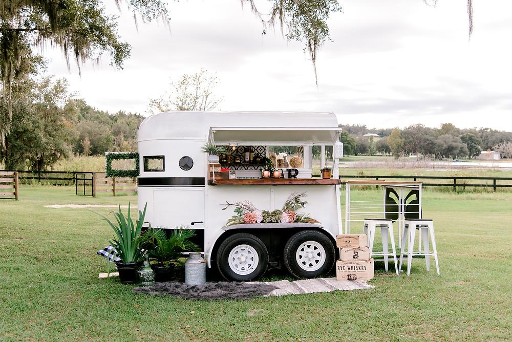 Tampa mobile bar cart