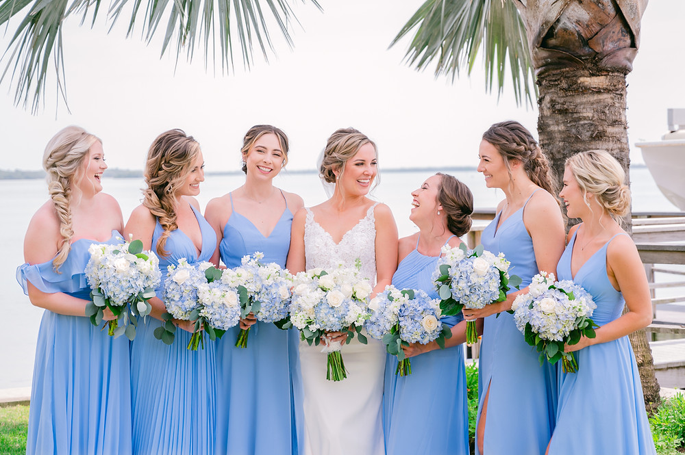 Bridesmaids dress trends for 2022 by Tampa wedding photographer Nina Bashaw