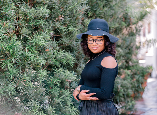 When is the best time to schedule your senior portraits? Charlotte photographer Nina Bashaw