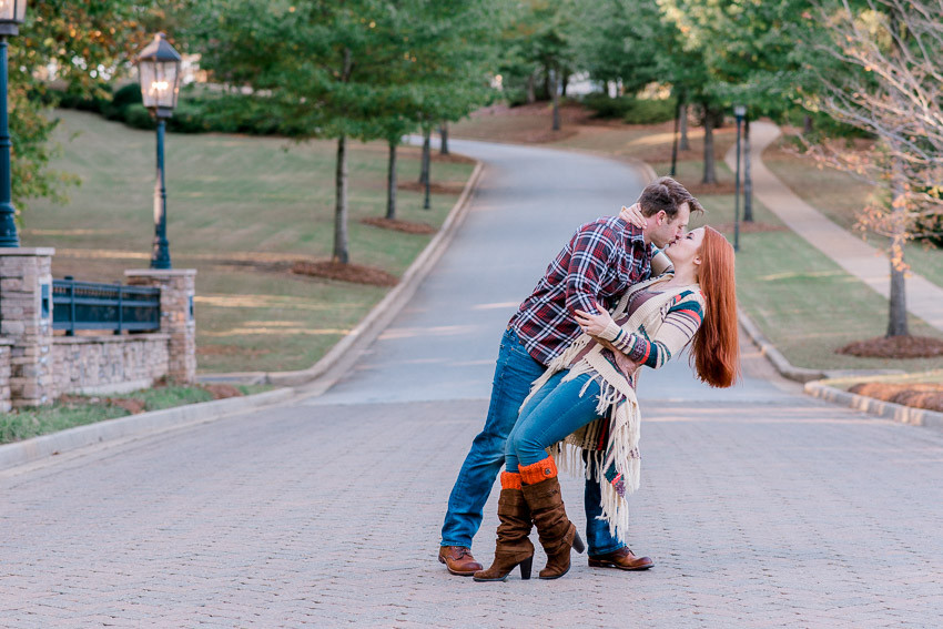 Anniversary photos with Nina Bashaw at Cobblestone Park Golf and country club | Columbia, SC photographer | Greenville photographer | fall photos | | Charleston engagement shoot