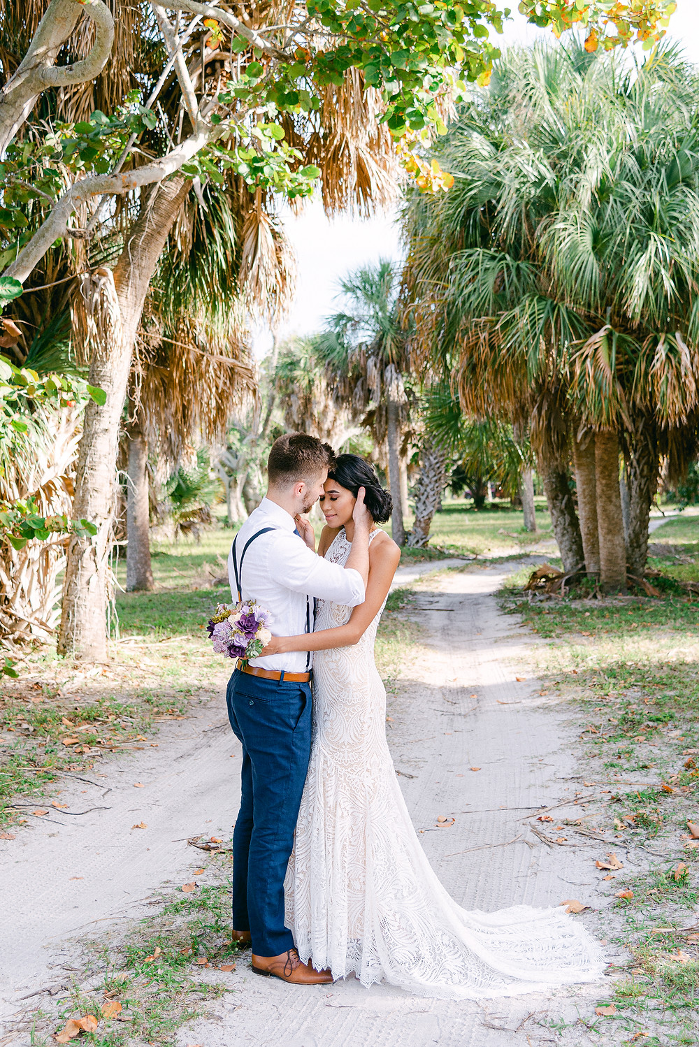 Nina Bashaw Photography shares elopement photos taken at Fort De Soto state park in St Pete