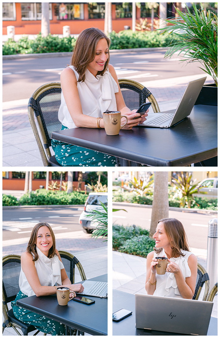 Brittany Ranew headshots by Nina Bashaw