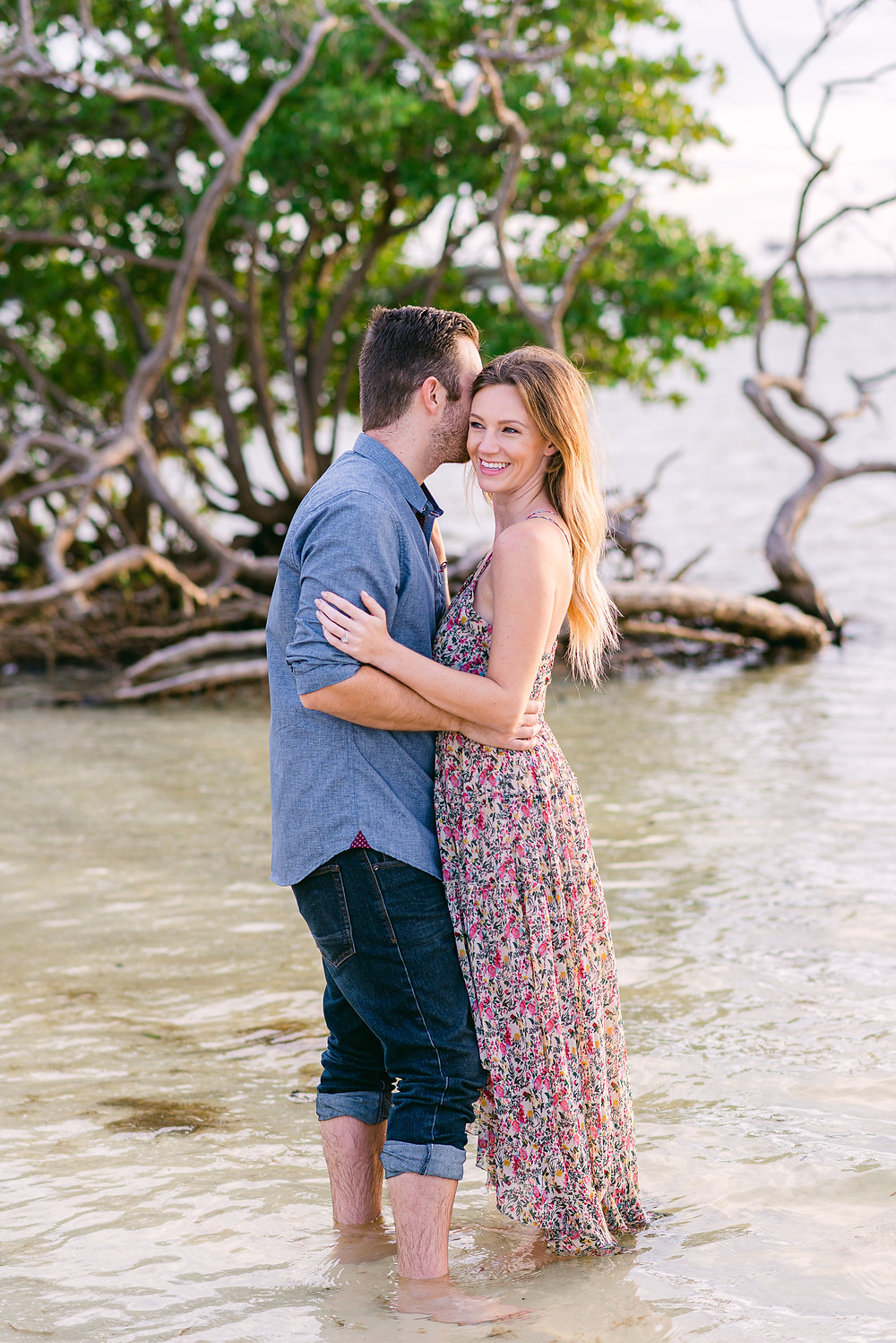 Tampa beach engagement session by Nina Bashaw Photography
