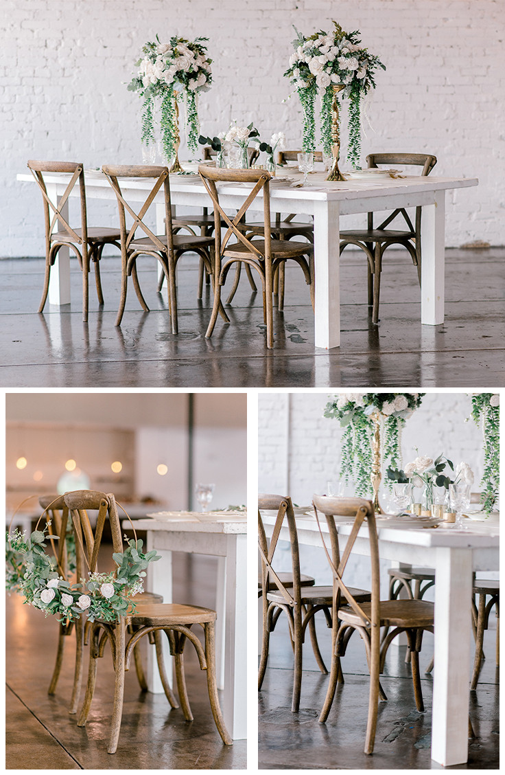 A chair affair inc. Haus820. Central Florida wedding venue