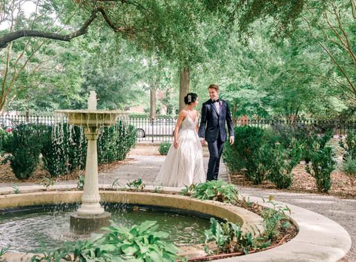 Wedding at Hampton Preston Mansion